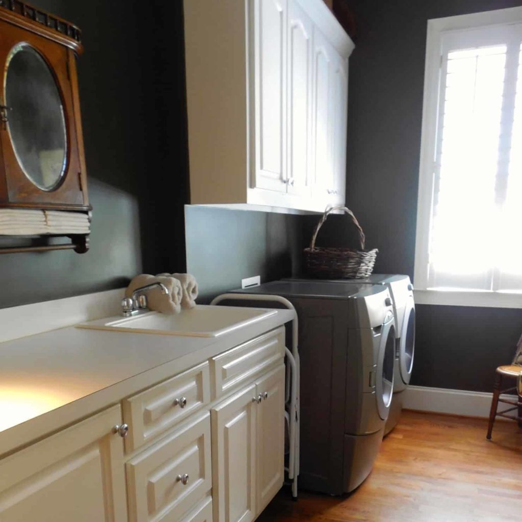 Clean and Functional Laundry Room