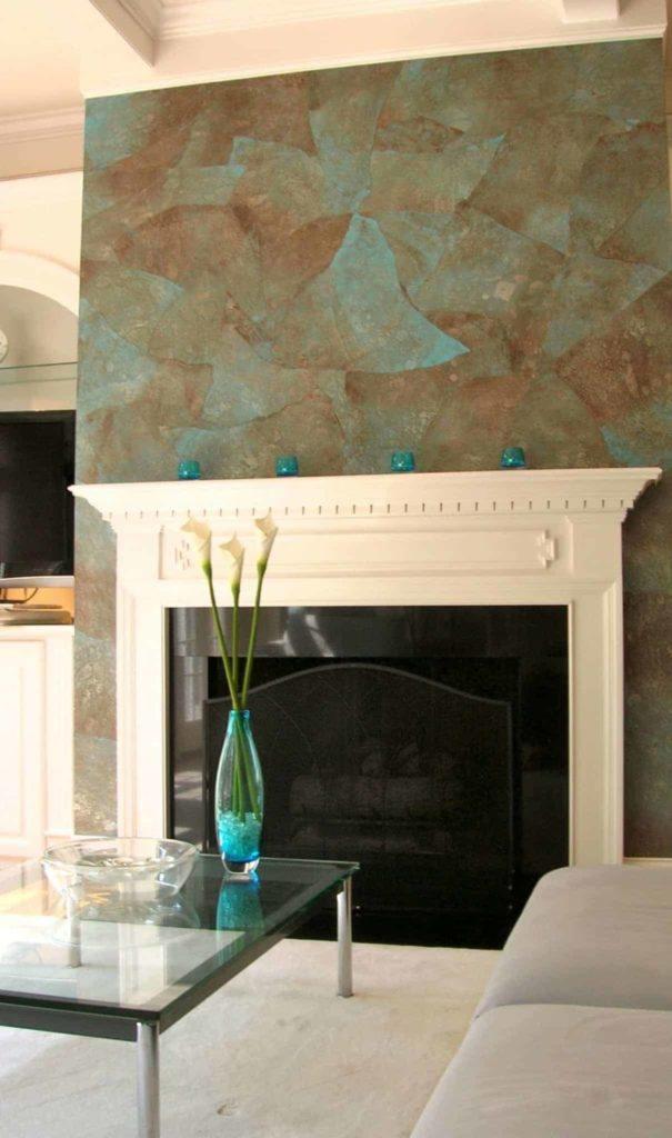 Custom Fireplace Wall-covering