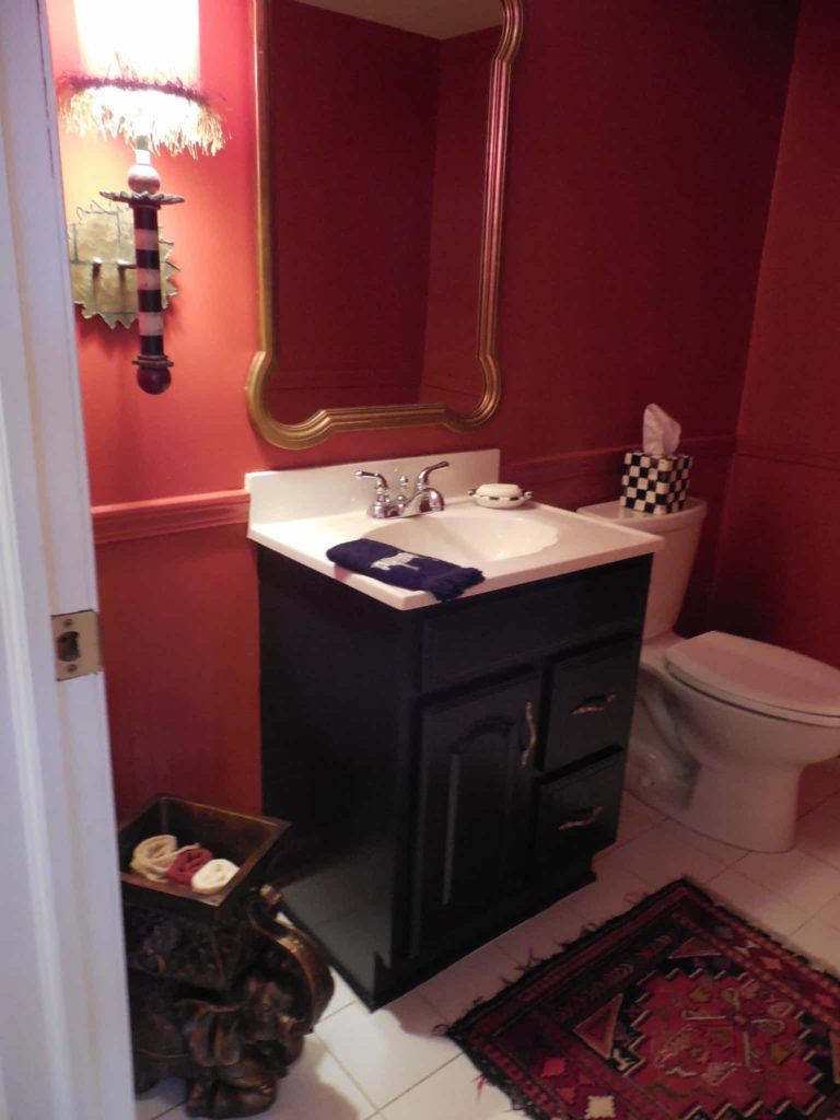 Powder Room Redo