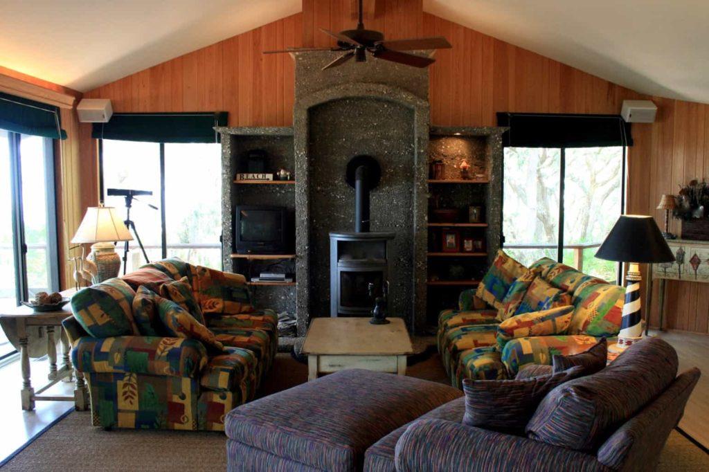 Casual Island Living Room
