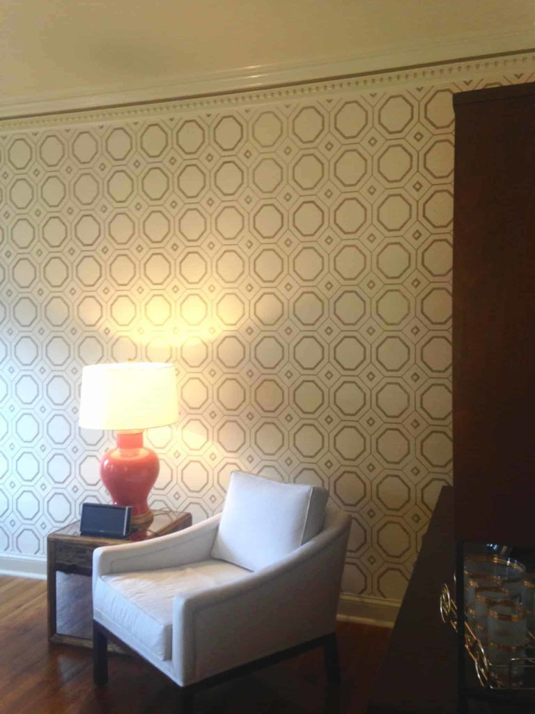 Adding Contemporary Wall Coverings and Paint